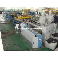 Quality Horizontal Structure HDPE Double Wall Corrugated Pipe Extruder 200 - 400 Diameter CE / ISO for sale