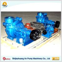 Quality acid resisting rubber slurry sludge mine pump for sale