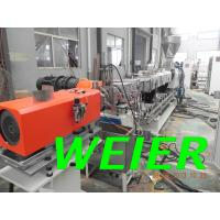 Quality Double Screw PE Plastic Recycle Machine For Underwater Pelletizing Line for sale