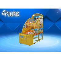 Buy cheap Coin Operated Children Basketball Machine basketball arcade game machine from wholesalers
