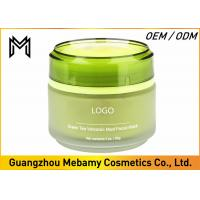 Quality Lightening Green Tea Volcanic Ash Face Mask Deep Pore Cleaning Anti Aging for sale