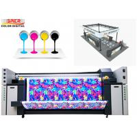 Quality 2.2m Flag Sublimation Printing Machine / Sign Printing Machine Continuous Ink Supply for sale