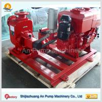 Quality self-priming sewage pumps with diesel engine for sale