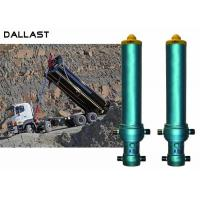 Buy cheap Max 6 Stage One Way Hydraulic Oil Cylinder Telescopic Hinge axle Tipper Truck from wholesalers