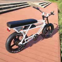China Brushless Motor Electric Off Road Bike , Electric Fat Tire Mountain Bike Max Speed < 30km/H on sale