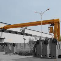Quality Steel Motorized Gantry Crane 16T Heavy Duty Type Ground Cabin Operation for sale