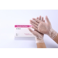 Quality Vinyl Waterproof Medical Disposable Glove Customized Anti Static for sale