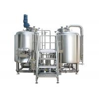 China High Power 8 BBL Brewing System Stainless Steel With PU Foam Insulation on sale