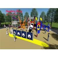 Quality Customized Child Plastic Outdoor Playground Slide Theme Park Equipment for sale