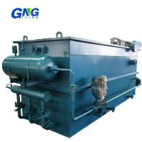 China Dissolved Air Flotation Unit Dye Wastewater Treatment With Pipe Flocculator on sale