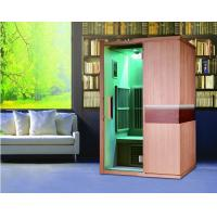 Quality Two Person Far Infrared Sauna Cabin, Solid Wood Home Sauna Kit for sale
