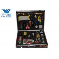 Quality Fusion Splicing Fiber Optic Tool Kit 26 Yools In One Case 430 × 330 × 135 mm for sale