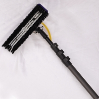 Quality 45 Feet Water Fed Carbon Fibre Extendable Pole for sale