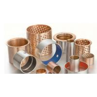 Quality Tin Plating  Bronze Gleitlager Du Ptfe Teflon Layer Size Steel Sleeve Bushing for sale