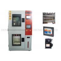 Quality Heat / Cold Humidity Climatic Test Chamber Double Layers Insulated Airtight Doors for sale