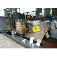 China Automatic Sludge Dewatering Screw Filter Press , Stainless Steel Filter Press Energy Saving on sale