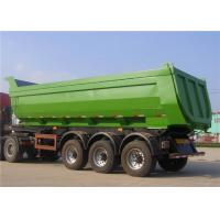 China 30M3 - 50M3 Heavy Duty Semi Trailers T700 50 Ton 60T Dump Trailer For Mineral Loading on sale