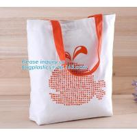 Buy cheap Logo Printed Eco-Friendly Cotton Canvas Bag,Beautiful printed canvas bag, OEM from wholesalers