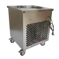 Buy Round Pan Thai Rolled Ice Cream Machine / Fried Ice Cream Maker Eco Friendly at wholesale prices