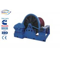 Road Bridge Project Large Winch 100-650KN For Factory Mine Engineering Steel Installation