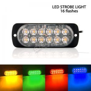 "Quality 4.3"" 24W LED strobe emergency light for sale"