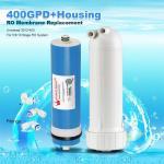 Quality 400GPD Umkehrosmose Wasser Filter Ersatz + Gehäuse RO Membran Universal HOT for sale