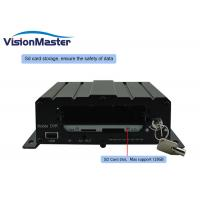 Quality DC8~36V 4 Channel Mobile Dvr , 2TB HDD 4G WIFI Mobile Dvr Recorder For Taxi Bus for sale