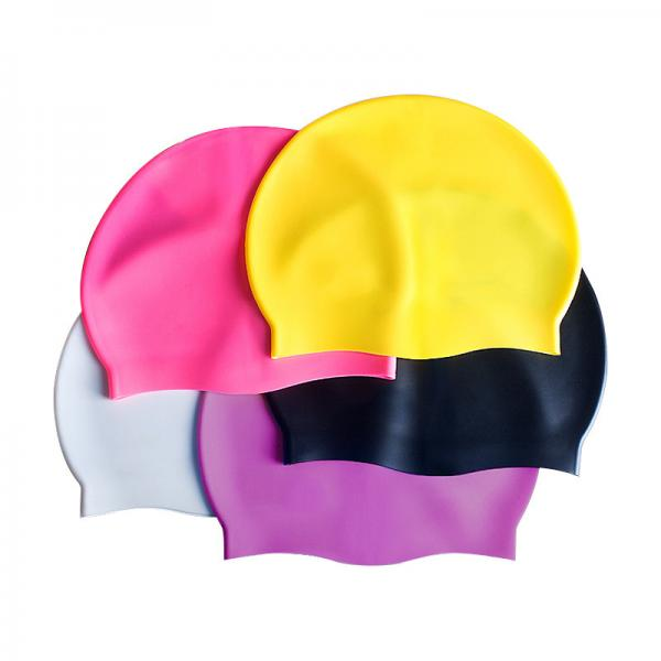 Buy Customized Hypoallergenic Silicone Waterproof Swim Cap at wholesale prices