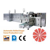 Buy cheap Large Ice Cream Cone Production Line High Efficiency 2.0hp 1.5kW from wholesalers