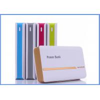 China High Capacity Portable External Power Bank , Mobile Juice Pack Charger With USB on sale