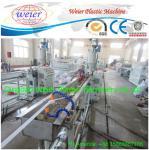 Quality Single Screw  Plastic Sheet Extrusion Line PVC Edge Banding Machine for sale