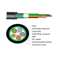 Quality Armored Composite Power / Outdoor Fiber Optic Cable GDTS for CCTV Cabling Service for sale
