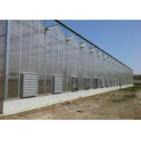 China Shouguan Agricultural Glass Greenhouse Hot Dip Galvanized Rust Prevention Design on sale