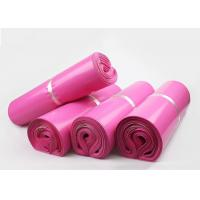 Quality Cheap Packaging Materials Pink Plastic Mailing Bags For Posting Parcels for sale
