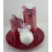 Quality Smokeless scented candle gift sets for travel, wedding, bars for sale