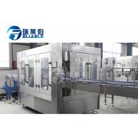 Quality AC 3 Phases Automatic Beer Filling Machine High Speed Bottle Capping Equipment for sale