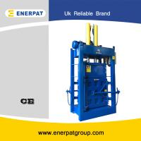 China Automatic vertical fabric baler on sale