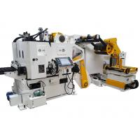 1300MM Metal Coil NC Servo 3 In 1 Straightener With Shearing Machine And Oiling Machine