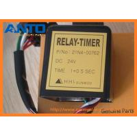 Buy cheap 21N4-00762 24V Timer Relay Used For Hyundai R80-7 R210LC-7 Excavator Spare Parts from wholesalers