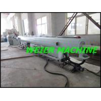 Quality 55kw drive motor conical double screw extruder machine for PVC pipe for sale