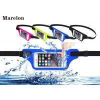 China Sport LED Waterproof Running Belt / Elastic Waist Belt Tool Bag With Touchable Window on sale