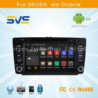 Quality Android 4.4 car dvd player GPS navigation for Skoda Octiva/ Octava with dvd bluetooth ipod for sale