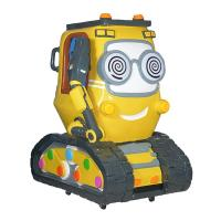 Buy cheap Cartoon Tank Yellow Kiddie Ride for Amusement Park from wholesalers