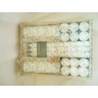 Buy cheap Pillar, White Scented Candle Gift Sets for Ornament, Souvenir from wholesalers