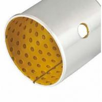 Buy cheap High Performance Flanged Sleeve Bearing POM Bush Tin / Copper Plating VSB-20 from wholesalers