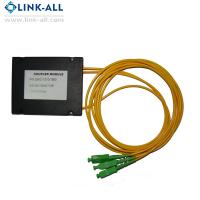 Quality 1X2 Customized Fiber Optic PLC Splitter ABS Module with Sc/APC Connector for sale