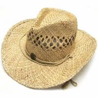133b271b China Summer Unisex Woven Straw Cowboy Hats With Fedora Band Outdoor  Protecting on sale .