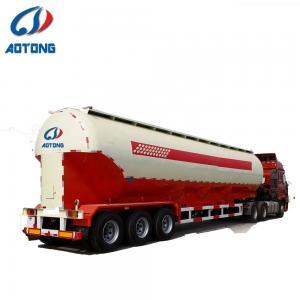 China 3 Axle Fuel Tanker Semi Trailer Trucks 45000 Liters 50000 Liters 60000 Liters on sale