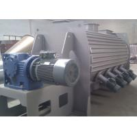 Quality High Speed Powder Ploughshear Mixer , Jacketed Ribbon Blender With Hot Water Injection for sale