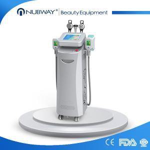 China newest medical pipe ultrasound vacuum laser cryolipolysis cavitation fat loss machine on sale